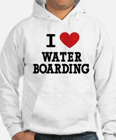 I Love Water Boarding Jumper Hoody