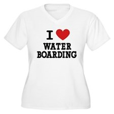 I Love Water Boarding T-Shirt
