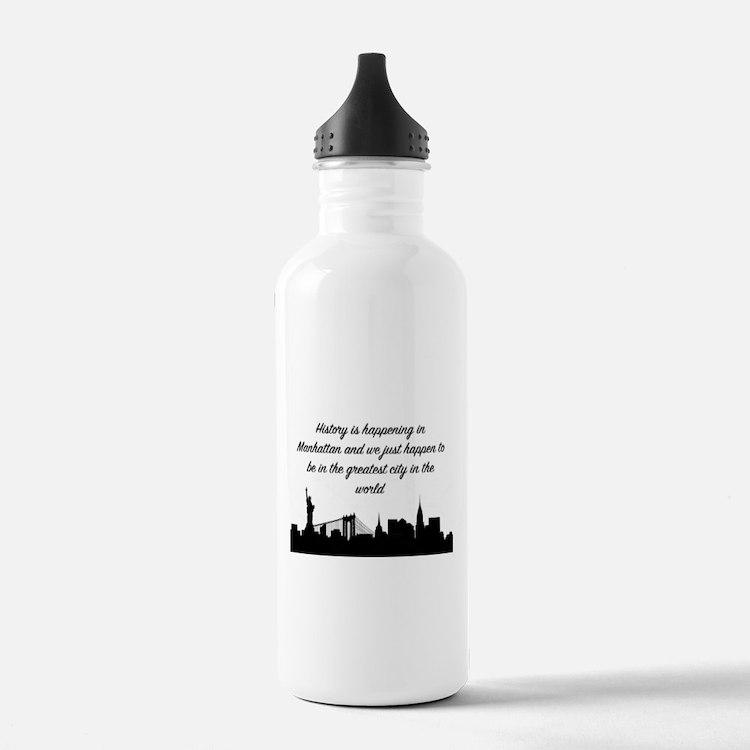 Greatest City Water Bottle