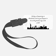 Greatest City Luggage Tag