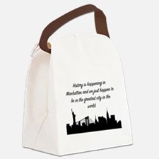 Greatest City Canvas Lunch Bag
