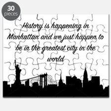 Greatest City Puzzle