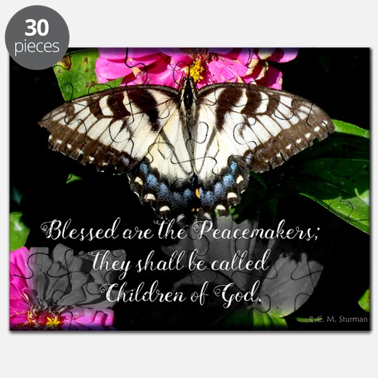Blessed are the Peacemakers and Swallowtail Puzzle