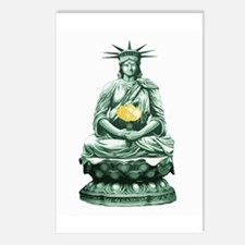 Liberty Buddha Postcards (Package of 8)