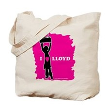 I love Lloyd Tote Bag
