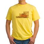 Flat Virginia Yellow T-Shirt
