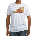 Flat Virginia Fitted T-Shirt