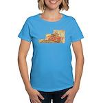 Flat Virginia Women's Dark T-Shirt