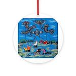 Flying Kites Ornament (Round)