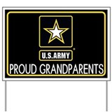 Army grandson Yard Signs