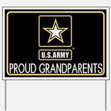 U.S. Army: Proud Grandparents (Star) Yard Sign