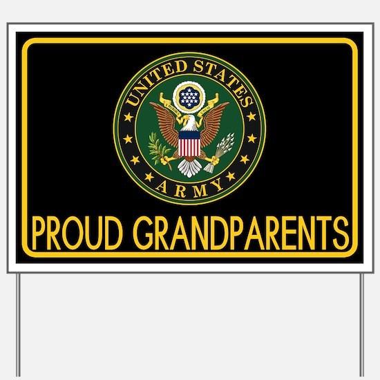 U.S. Army: Proud Grandparents (Eagle) Yard Sign