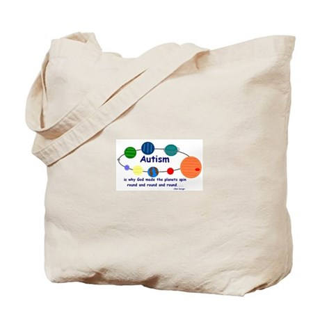 World go round Tote Bag