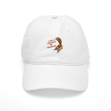 Christmas Chipmunk Cap