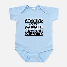Most Valuable Netball Player Infant Bodysuit