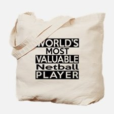 Most Valuable Netball Player Tote Bag