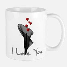 Black Lily Valentine Mug