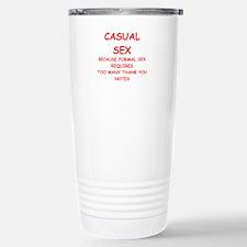 casual sex Travel Mug