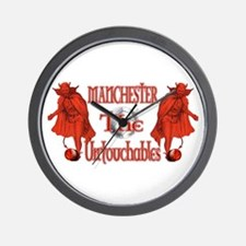 Manchester Untouchables Wall Clock