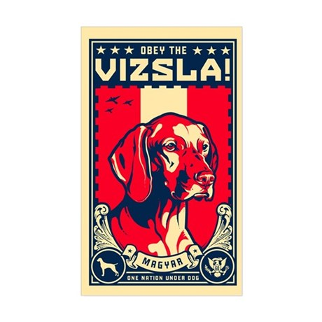 American Vizsla- Rectangle Sticker