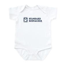 STANDARD SCHNAUZER Infant Bodysuit