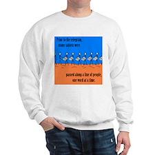 Eat Poop U Cat Sweatshirt