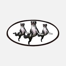 Dancing boston terriers a choirs line Patch