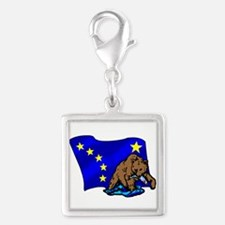 Alaskan Bear Flag Charms