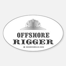 Offshore Rigger Oval Decal