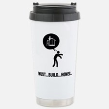 Cute Halloween zombie Travel Mug