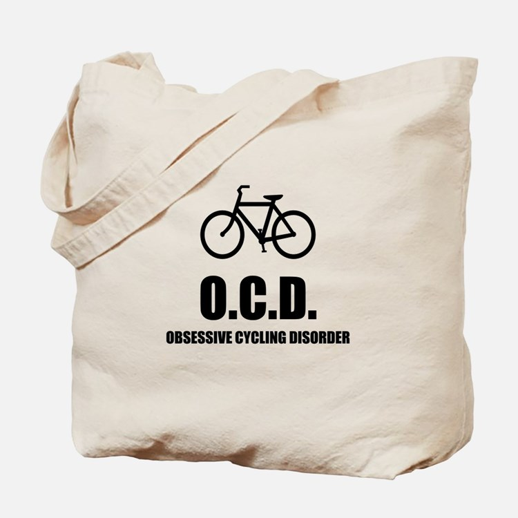 Obsessive Cycling Disorder Tote Bag