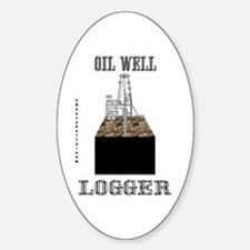 Logger Oval Decal