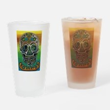 Sugar Skull-Day of the dead Drinking Glass