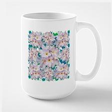 Plumeria Bouquet Exotic Summer Pattern Mugs