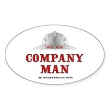 Company Man Oval Bumper Stickers