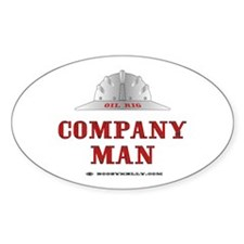 Company Man Oval Decal