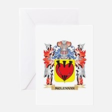 Mclennan Coat of Arms - Family Cres Greeting Cards