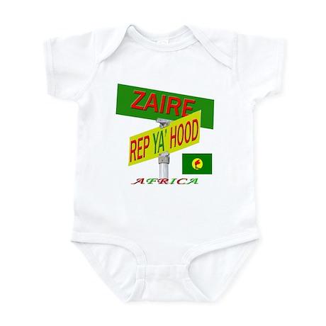 REP ZAIRE Infant Bodysuit