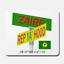 REP ZAIRE Mousepad