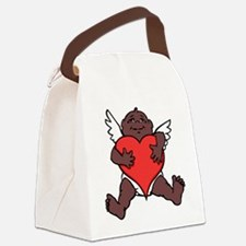 African Cupid Valentine Love Canvas Lunch Bag