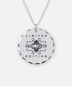 1967 Limited Edition Necklace Circle Charm