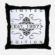 Funny Vintage 60th birthday Throw Pillow