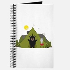 Grizzly Bear Camping Journal
