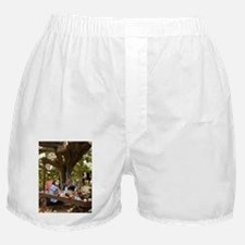 Mad Tea Party Boxer Shorts