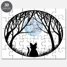 Fat Cat Gifts Shirts Cat Lover Art Gifts Puzzle