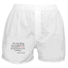 Unique Political quotes Boxer Shorts