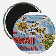 Hawaii Postcard Magnets