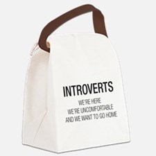 INTROVERTS Canvas Lunch Bag