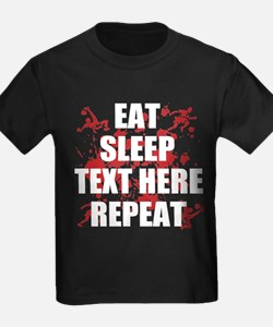 Eat Sleep Soccer Repeat Personal T