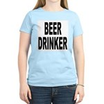 Beer Drinker (Front) Women's Light T-Shirt